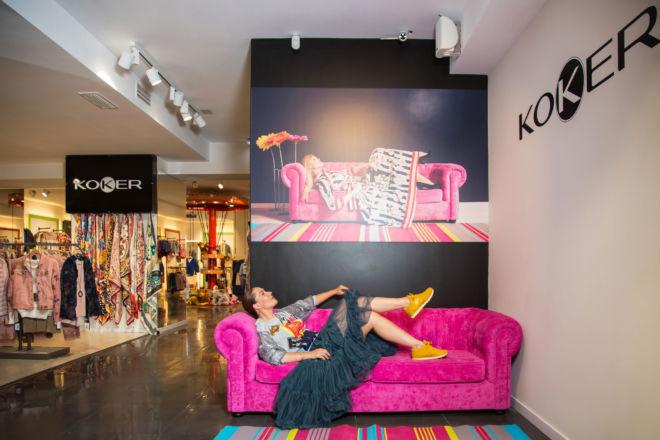 Fotografías en Koker Zaragoza con Rosario Mohedano.